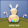 easter on messenger