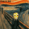the scream msn messenger emoticon parody