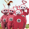 evil nazi teletubbies
