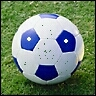 Alien Head Soccer ball