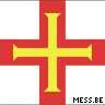 Channel Islands Guernsey Flag