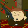 Cartman shooting