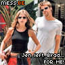 jennifer aniston left brad pitt for me