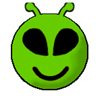 alien smiley