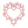 01 Glowing Heart