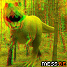3D Dinosaur Display Picture
