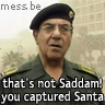 Sahaf about Saddam Santa